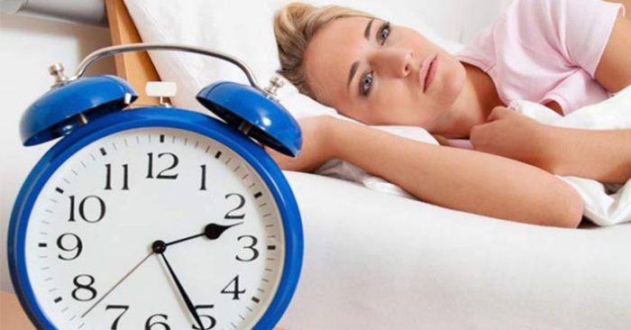 Vì sao bạn bị mất ngủ,ngủ không sâu giấc? 1