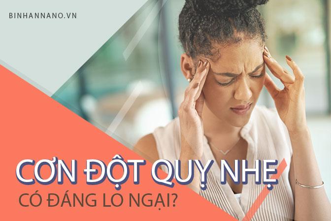 Một cơn đột quỵ nhẹ có nguy hiểm không? 1