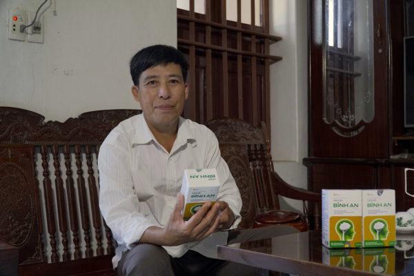 Chú Trần Thanh Hà (Vụ Bản, Nam Định) - Hoa mắt, mất ngủ nhiều năm do hội chứng tiền đình 1