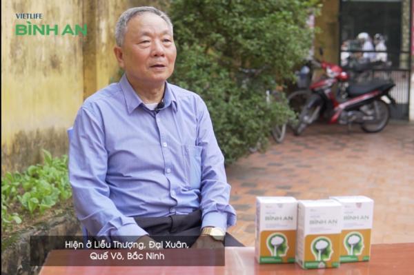 Bác Trịnh Văn Hoàn (Bắc Ninh) – hết bệnh rối loạn tiền đình, huyết áp ổn định không cần dùng thuốc 1