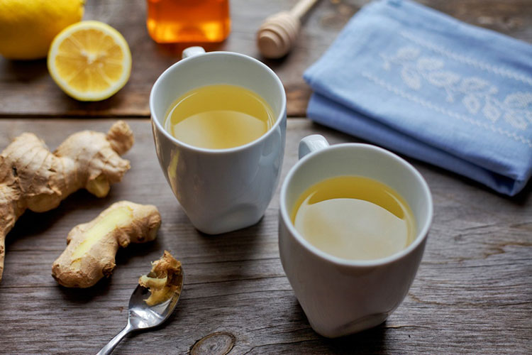 3/ Trị mất ngủ bằng trà gừng và mật ong 1