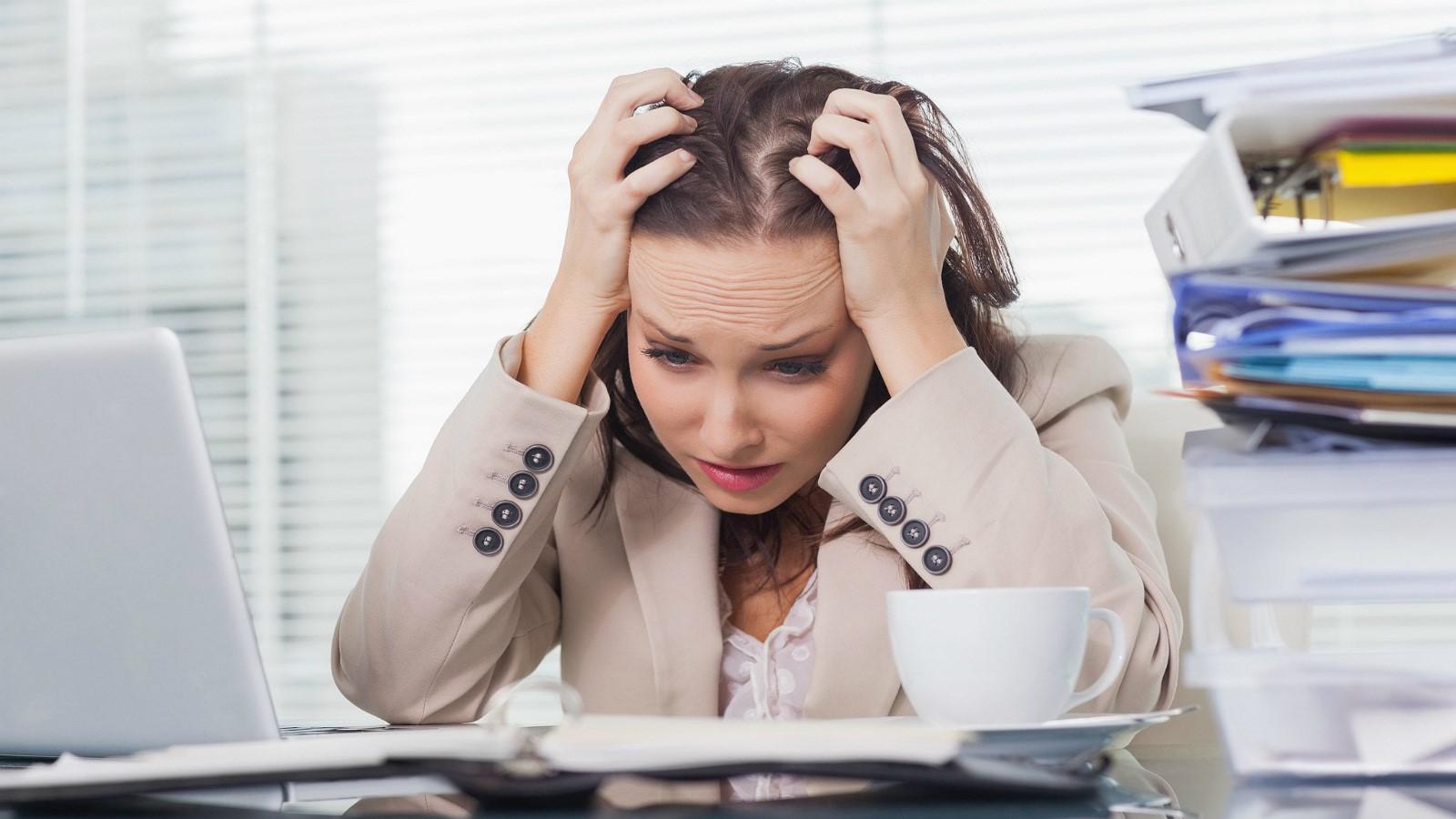Những dấu hiệu của stress 1