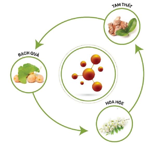 Sản phẩm duy nhất chứa phức hệ nano dược liệu từ các loại thảo dược thiên nhiên quý 1