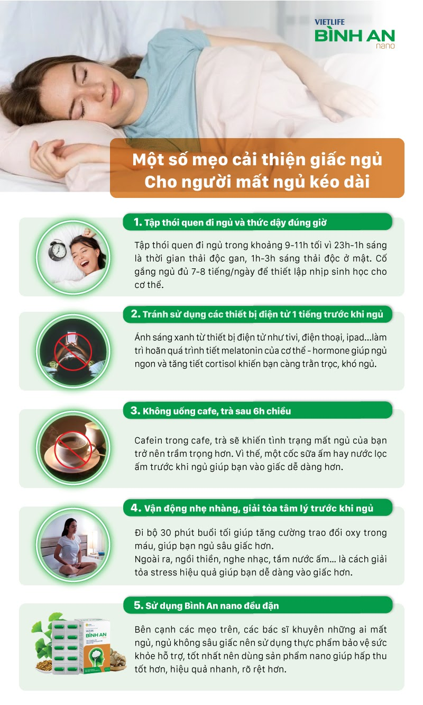 Một số cách cải thiện giấc ngủ 1
